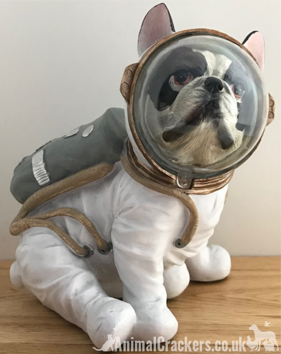French Bulldog in Astronaut Space Suit ornament decoration, novelty Frenchie lover gift