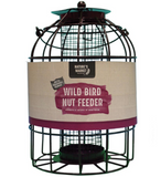 Set of 2 robust Squirrel Proof bird feeders (1 seed + 1 nut feeder) from Natures Market
