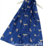 Ladies lightweight Labrador Scarf Sarong in choice of colours