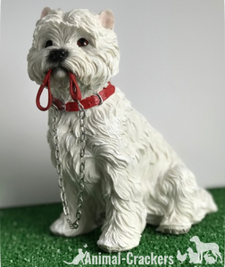 West Highland Terrier Westie ornament quality Leonardo Walkies figurine, boxed
