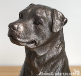 Beauchamp Bronze Rottweiler sculpture ornament figurine statue collectable gift
