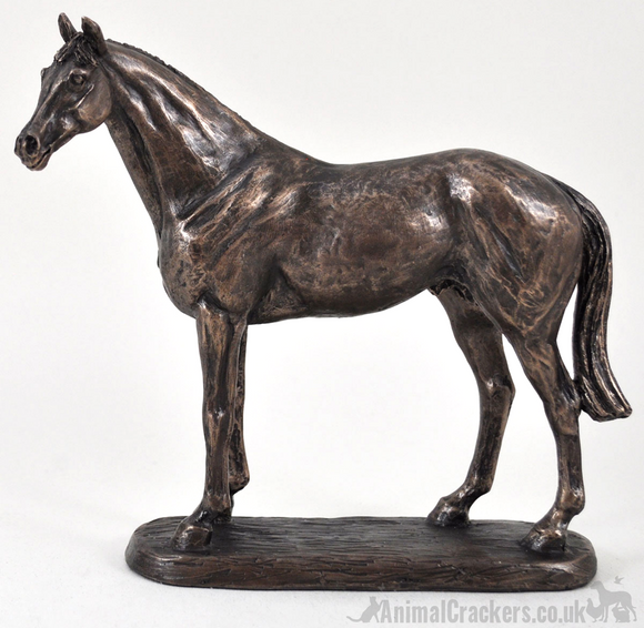 'Ascot Andy' by Harriet Glen bronze racehorse ornament horse figurine sculpture