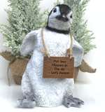 Large 23cm 'Happy Feet' Dancing Penguin lover gift Christmas ornament decoration