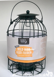 SPECIAL OFFER! Easy fill Squirrel Guard Wild Bird SEED feeder in green plastic coated metal