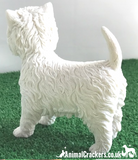 West Highland Terrier 'Westie' figurine ornament quality Leonardo, gift boxed