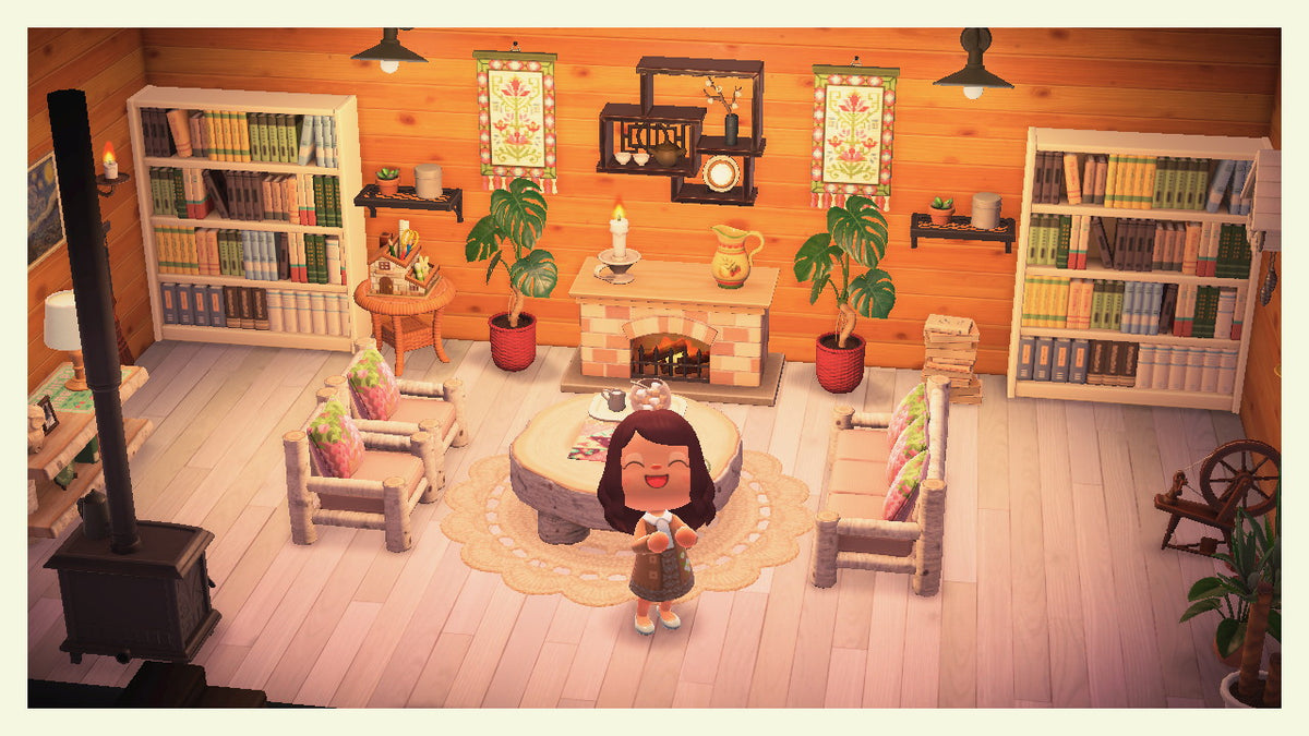 Animal Crossing: New Horizons 🏝️: Set - Cottagecore Living ... on New Horizons Living Room  id=17191