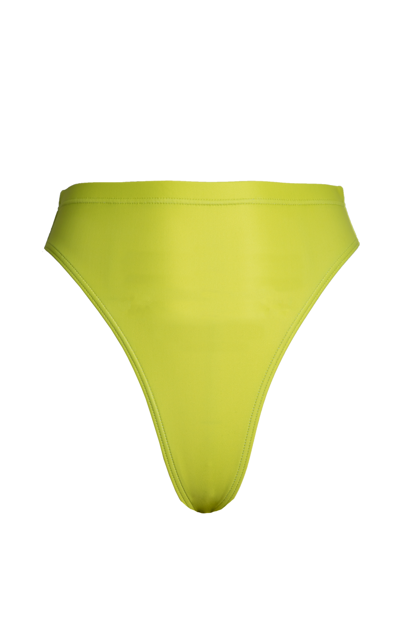 Island Swim Brief in Limonata