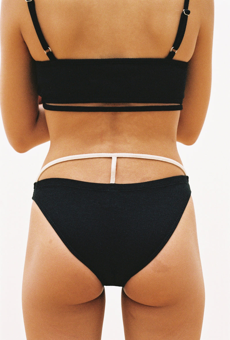 Bamboo Brief in Black