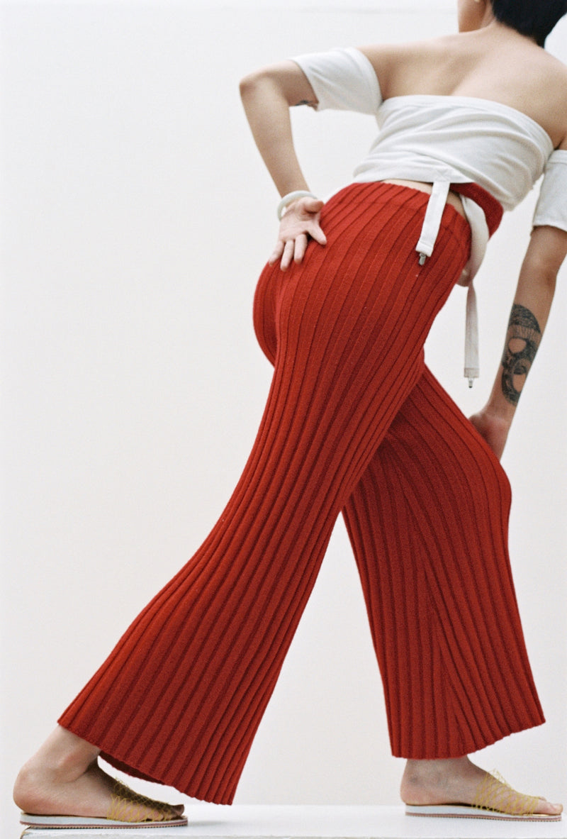 Choi Trousers in Pomegranate
