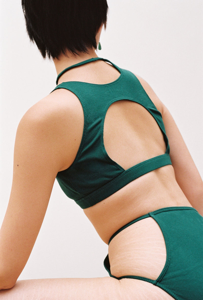 Mui Top in Emerald