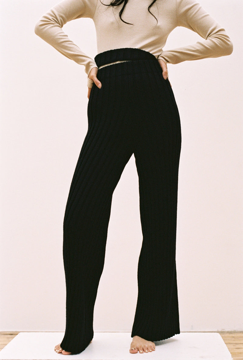 Choi Trousers in Black