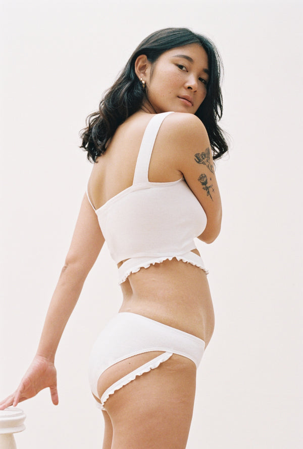Gumi Brief in White
