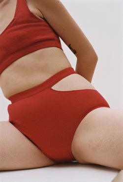 Sade Brief in Pomegranate