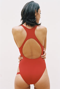 Shanice Swimsuit in Pomegranate