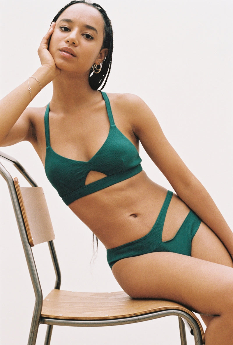 Steph Top in Emerald