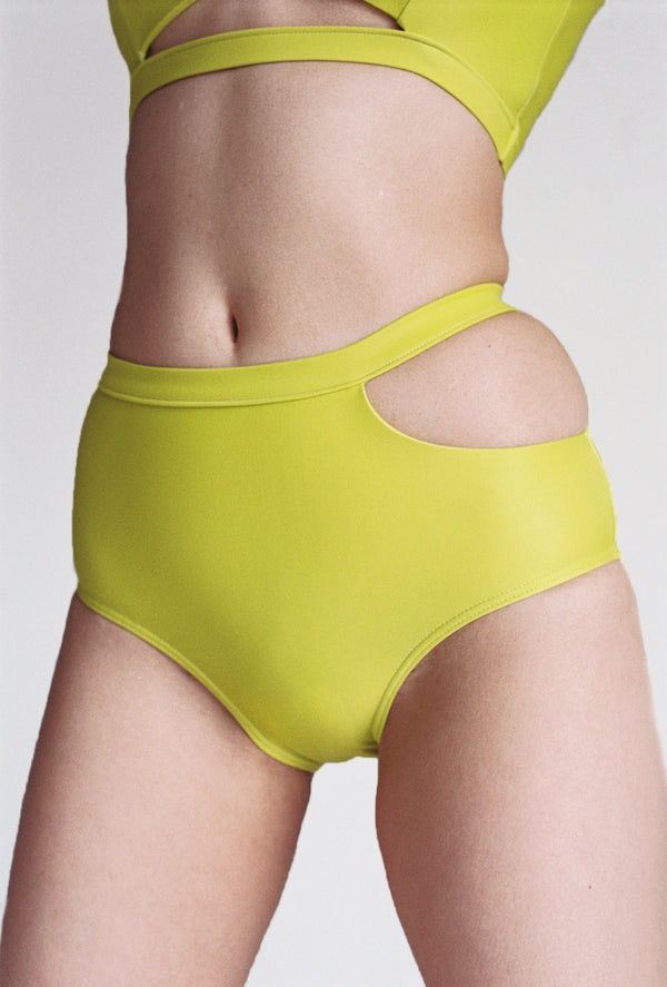 Sade Swim Brief in Limonata