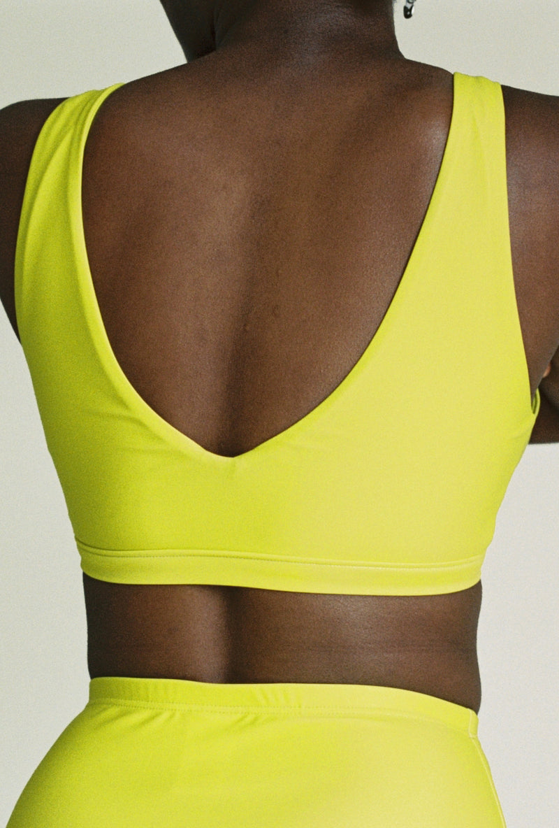 Ryym Swim Top in Limonata