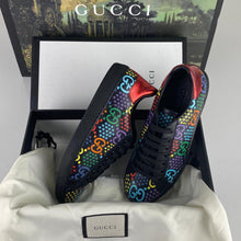 Load image into Gallery viewer, Gucci Ace Black GG Psychedelic Sneaker