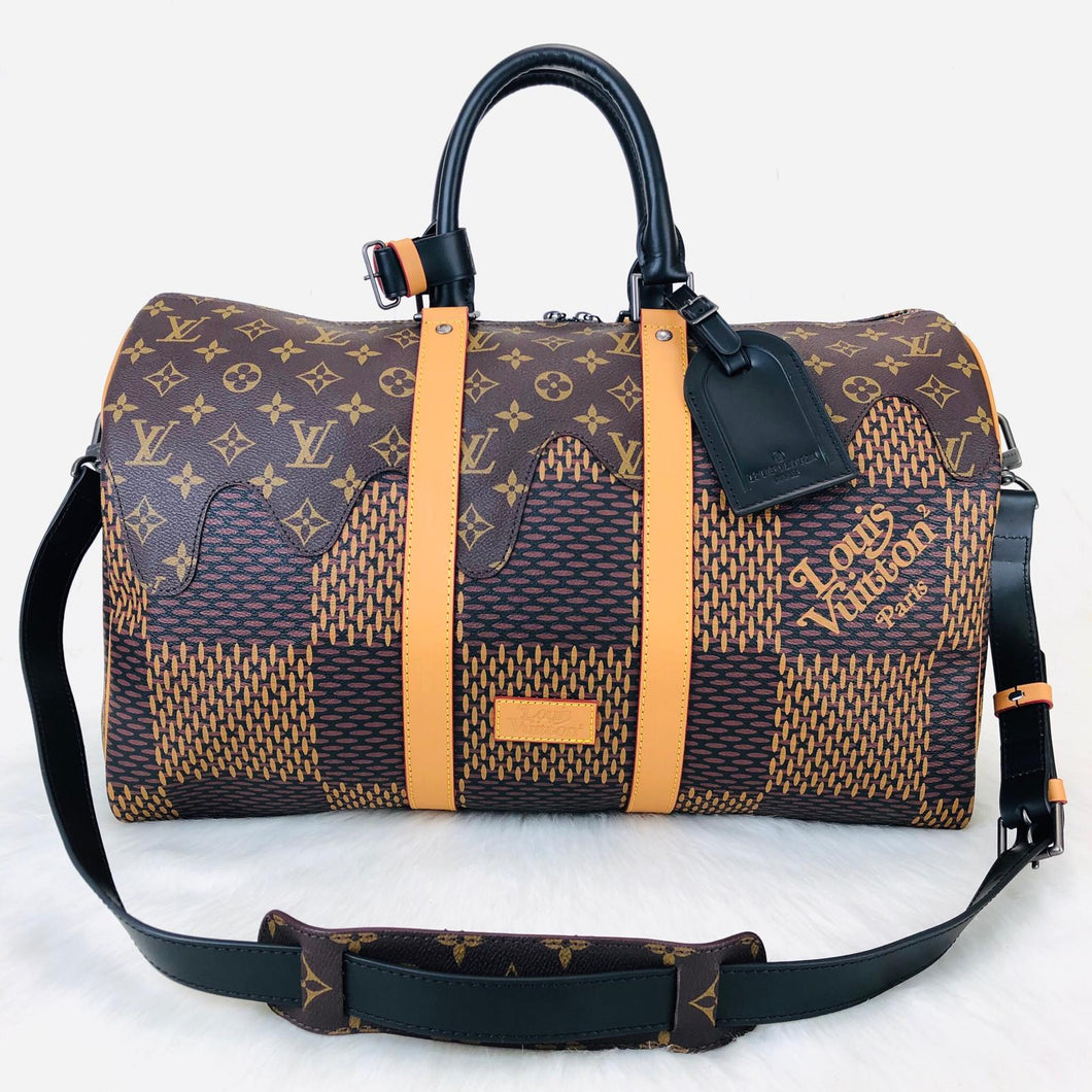 Keepall Bandoulier LV² Collection Black