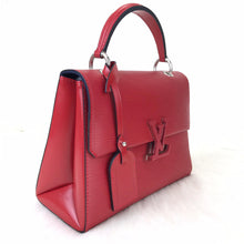 Load image into Gallery viewer, Pochette Grenelle Epi Red