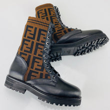 Load image into Gallery viewer, Fendı Rockoko Biker Boots Women
