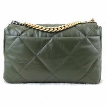 Load image into Gallery viewer, CH19 Large Flap Bag Green