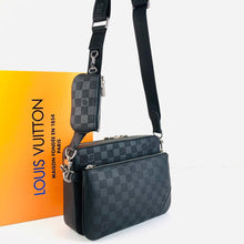 Load image into Gallery viewer, Louis Vuitton Trio Messenger