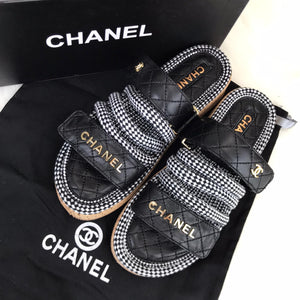 CH Trend Velcro Sandals Black And Grey