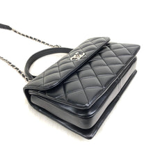 Load image into Gallery viewer, Trendy Coco Flap Bag Black