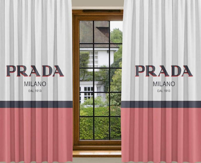 New 2PCS Curtain PR