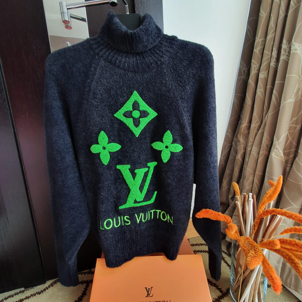 LV Lady Sweater Monogram Black