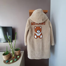 Load image into Gallery viewer, Moschino Teddy İcon Coat