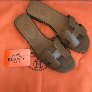 Oran Sandals Genuine Leather(Color Options)