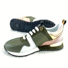 Load image into Gallery viewer, Run Away Sneaker Green Pink