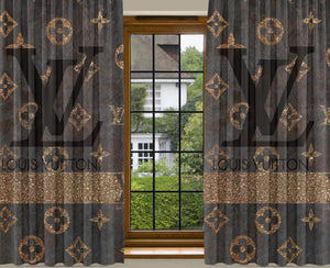 New 2PCS Curtain LV2