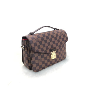 Pochette Metis Crossbody Bag Canvas Damier Ebene