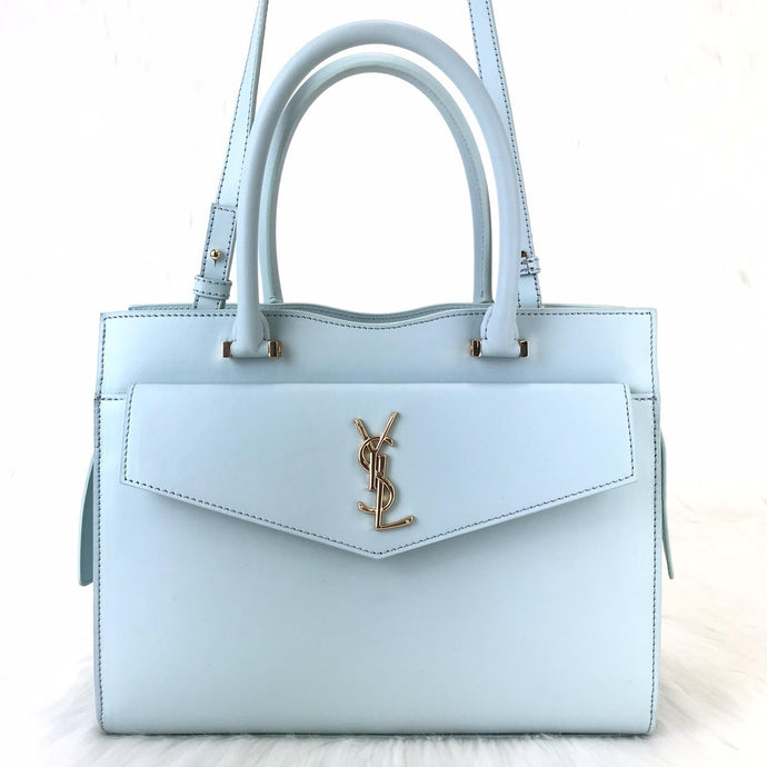 Uptown Medium Tote Bag Aqua