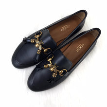 Load image into Gallery viewer, Jordaan Bee İnterlocking Loafer Woman Shoes
