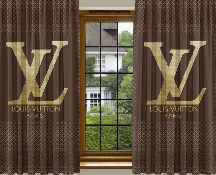 New 2PCS Curtain LV1