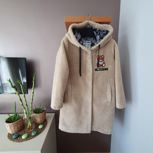 Moschino Teddy İcon Coat