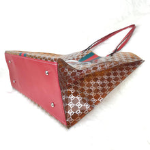 Load image into Gallery viewer, Pvc Beach Bags GC Brown