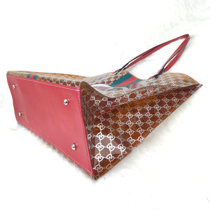 Pvc Beach Bags GC Brown