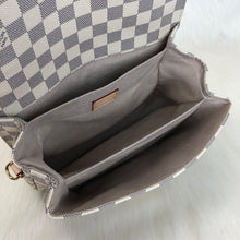 Load image into Gallery viewer, Pochette Metis Crossbody Bag Canvas Damier Azur