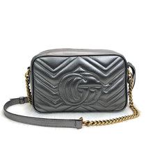 Load image into Gallery viewer, Marmont Messenger Bag Silver