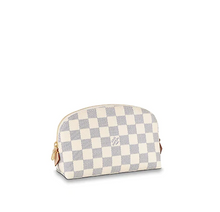 Load image into Gallery viewer, Cosmetic Pouch GM Damier Azur