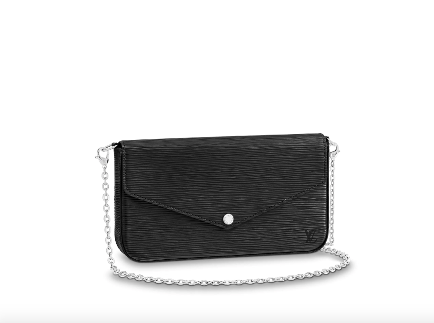 Felice Clutch Epi Black
