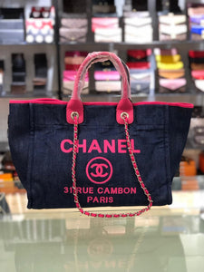 Shopping Bag Leather And Jean