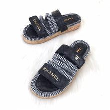Load image into Gallery viewer, CH Trend Velcro Sandals Black And Grey
