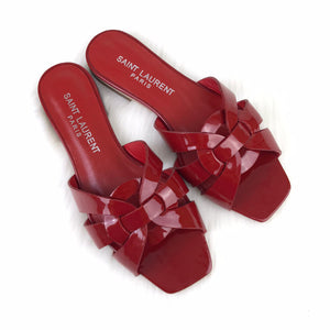 Tribute Flat Sandals Red