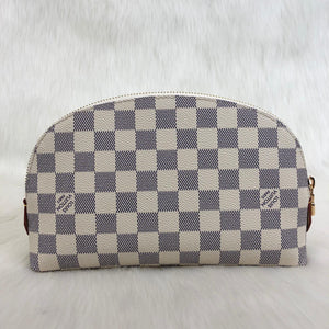Cosmetic Pouch GM Damier Azur